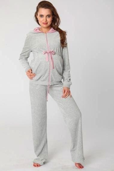 cf8e4b8c2fe спортивный велюровый костюм для беременных mamita. спортивный велюровый  костюм для беременных mamita