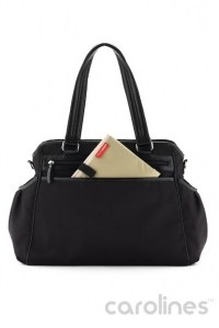 сумка для мамы studio tote charcoal dot skip hop фото 5
