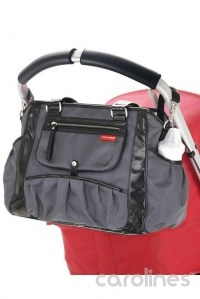 сумка для мамы studio tote charcoal dot skip hop фото 4