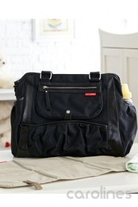 сумка для мамы studio tote charcoal dot skip hop фото 8