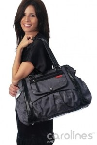 сумка для мамы studio tote charcoal dot skip hop фото 2