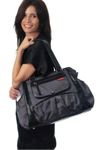сумка для мамы studio tote charcoal dot skip hop фото 7
