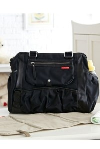 сумка для мамы studio tote charcoal dot skip hop фото 12