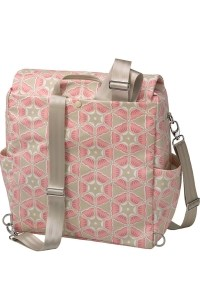 сумка boxy backpack blooming in brixham petunia pickle bottom фото 4