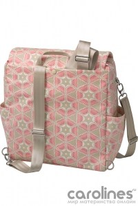 сумка boxy backpack blooming in brixham petunia pickle bottom фото 2
