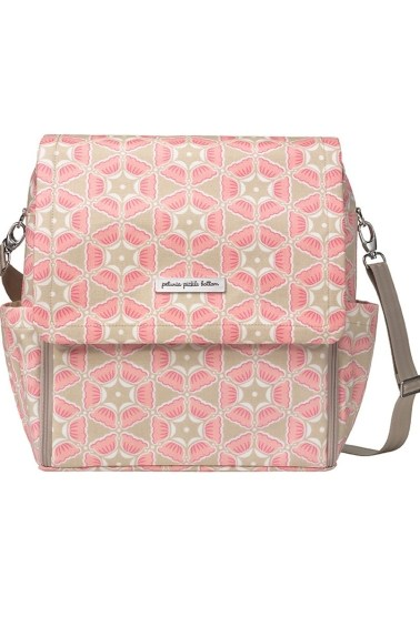 сумка boxy backpack blooming in brixham petunia pickle bottom