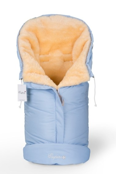 конверт в коляску sleeping bag  100 шерсть blue mountain esspero