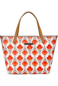 сумка для мамы petunia downtown tote brittany blooms petunia pickle bottom