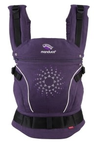 слинг-рюкзак limitededition purpledarts manduca
