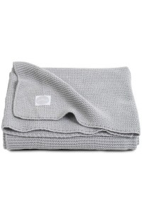 Вязаный плед Basic knit 75х100 см Light grey