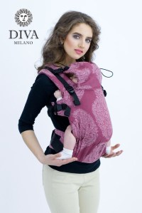 Diva Эрго-рюкзак Essenza One Berry Linen