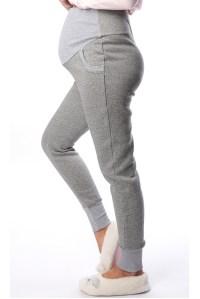 ... брюки-джоггеры футер с начесом антрацит для беременных euromama фото 2  ... 5275dd55339